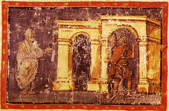 Collegamento a Enea sulla soglia: reagenti medievali